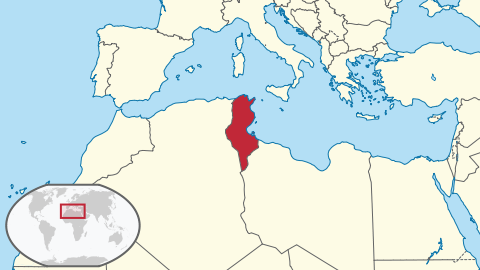 tunisia location